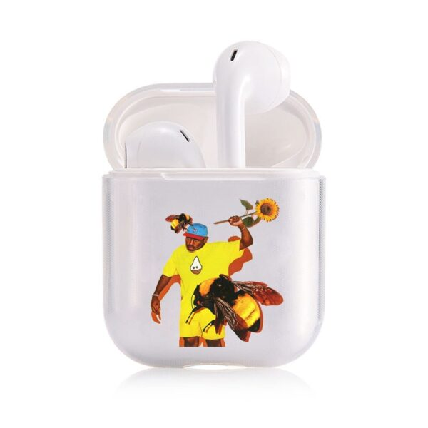 Tyler the creator Golf Silicon transparent Bluetooth Earphone Cover