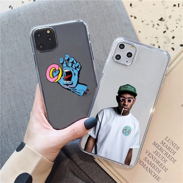 Tyler Creator Silicone phone Case For iPhone 5S SE 6 X XS XR XS 6s7 8 Plus 11 pro MAX