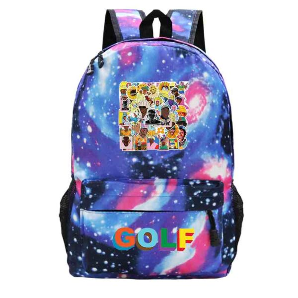 Tyler, The Creator School Bag Fashion Black men Women's Computer Backpack Bag