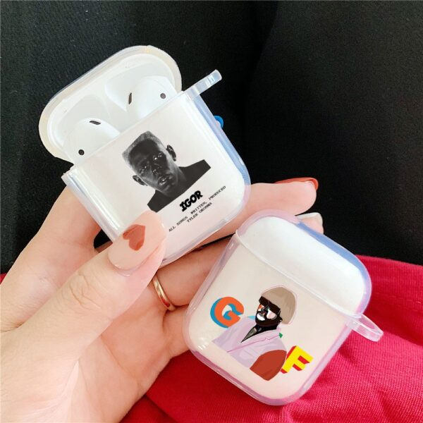 Tyler The Creator Earphone Silicon Soft TPU Cover