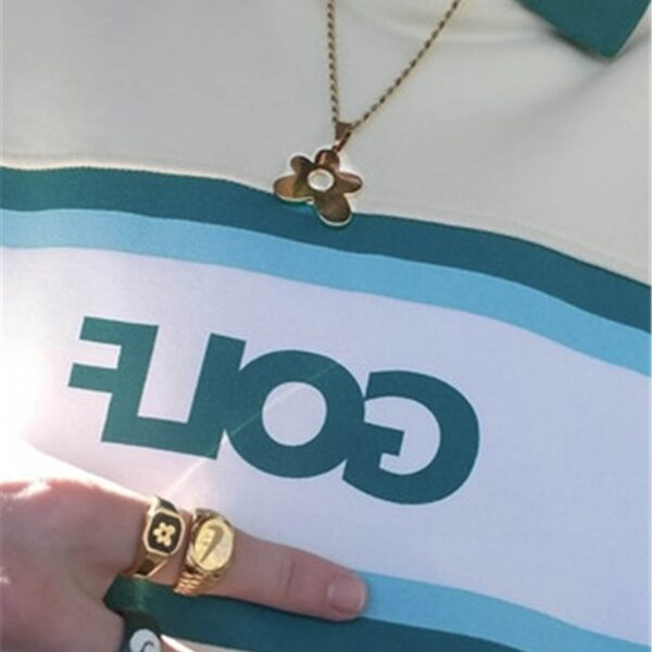 GOLF WANG necklace for friends small flower couple skateboard style