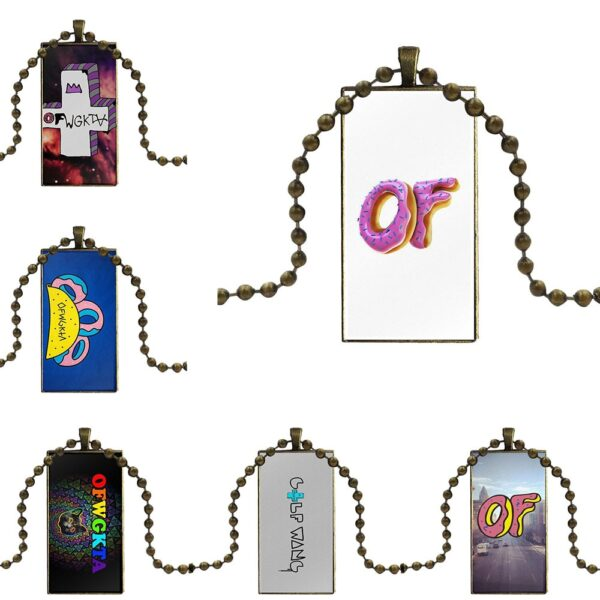 Golf Wang Schoolgirl Maxi Glass Necklace
