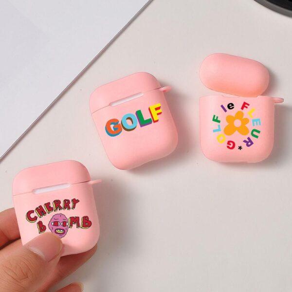 Tyler The Creator Golf Light Pink Earphone Cases