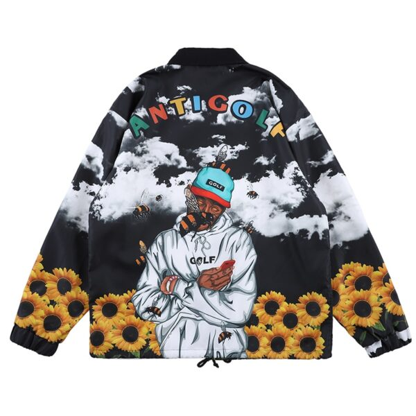 Tyler The Creator New Warm Windbreaker Trench Jackets Coat