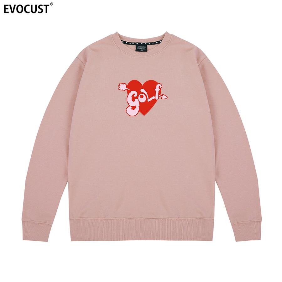 Tyler The Creator Golf Wang heart Flower Le Fleur logo Sweatshirts