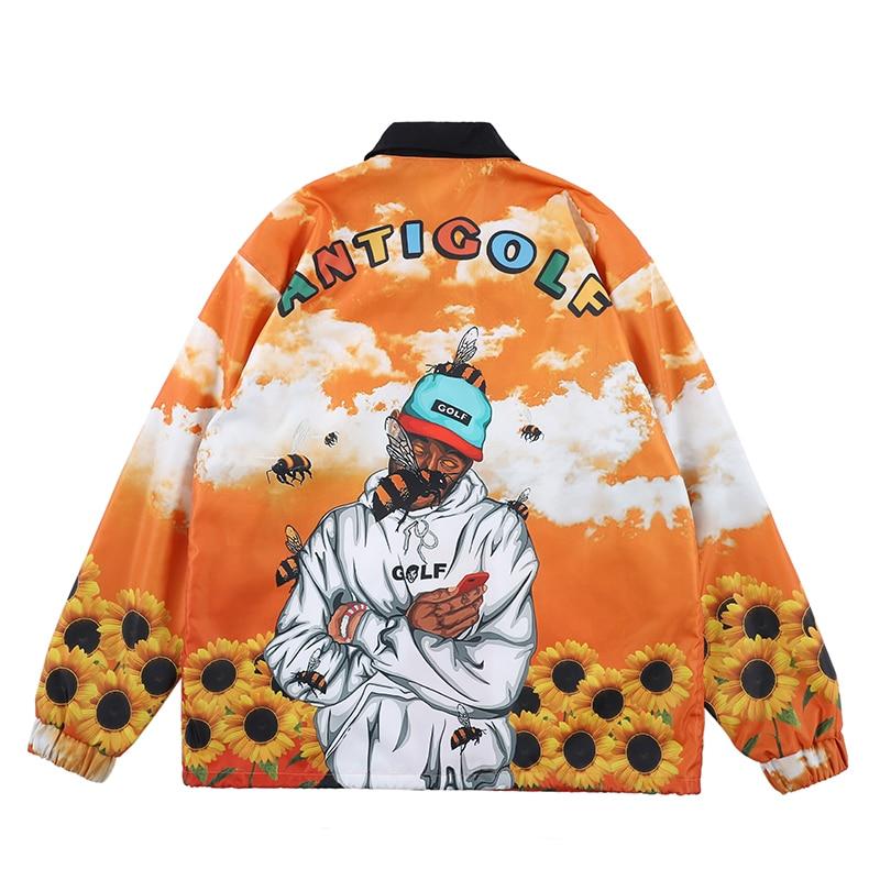 Tyler The Creator Warm luxury Windbreaker Trench Jackets Coat