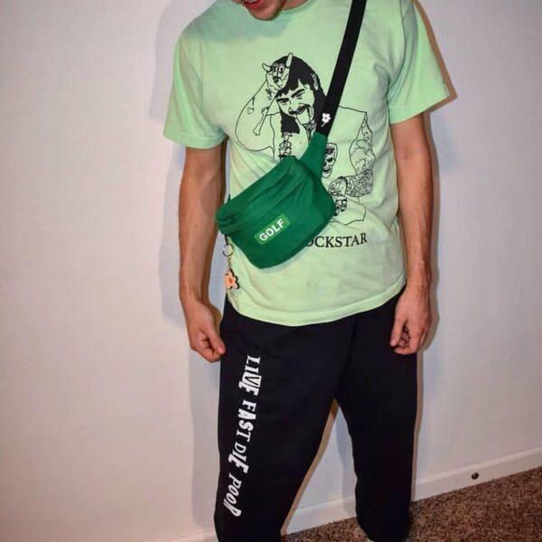Tyler The Creator Golf Novelty Brand New Hot Shoulder Side Bag