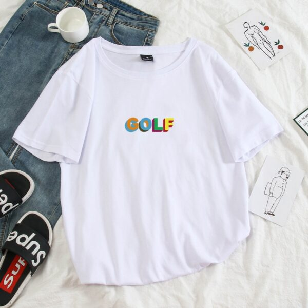 2020 New Tyler The Creator Golf Wang men womens Hip Hop Tshirt