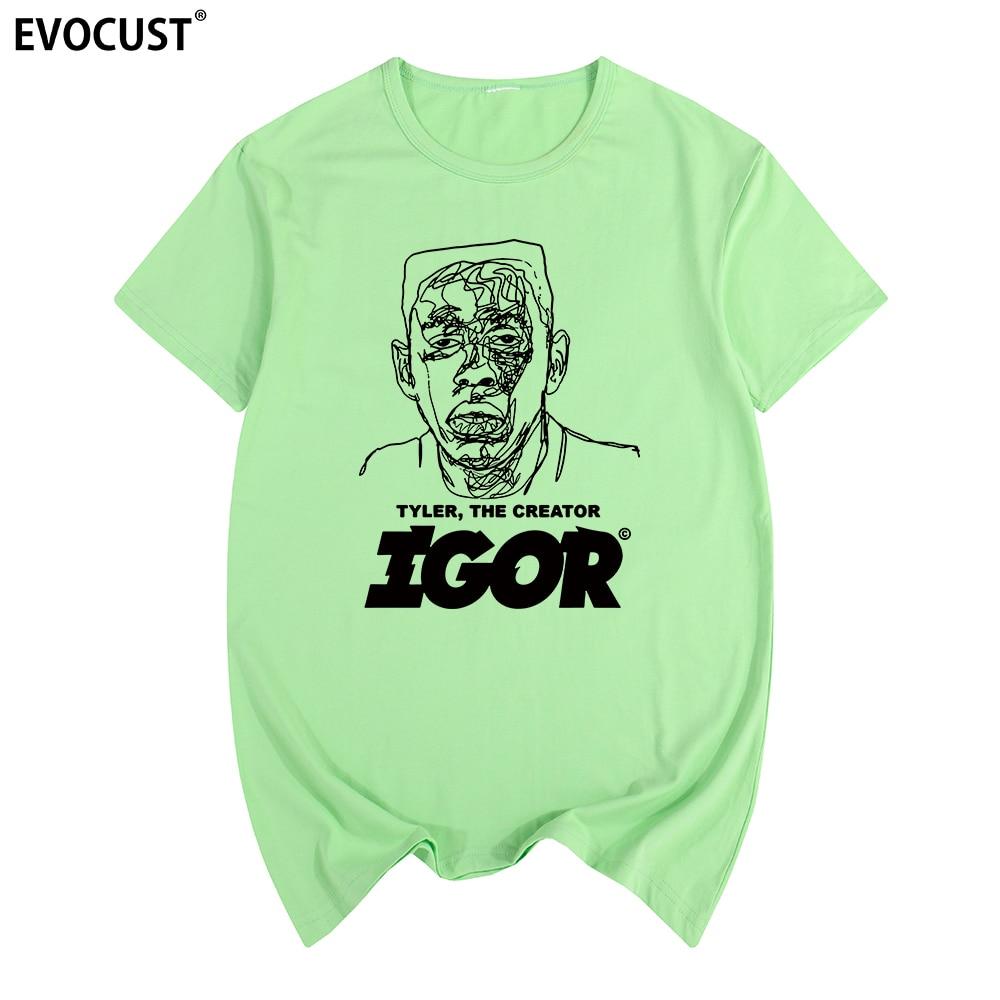 Golf Wang Tyler The Creator T-shirt Cotton Men T shirt New TEE TSHIRT Women's