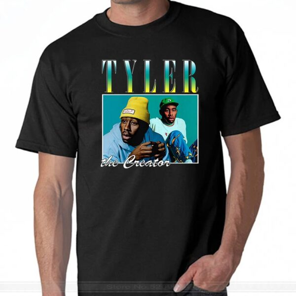 Tyler the Creator Black men Women's summer fashion t-shirt