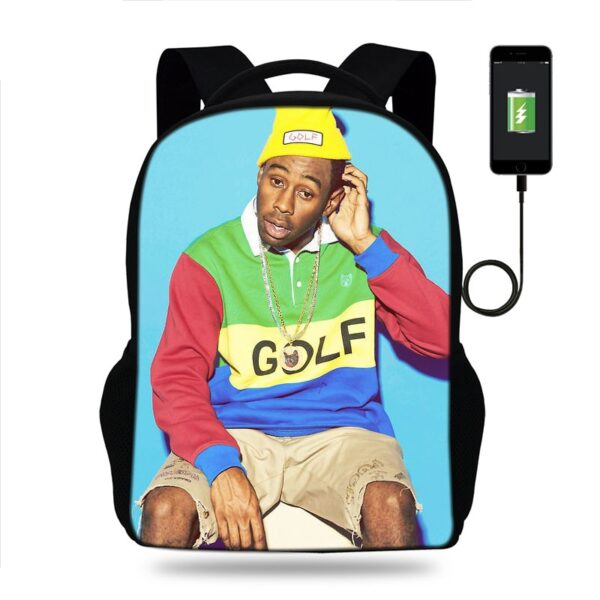 Tyler The Creator Backpacks 3d Prints Student School Bags Boy Girl