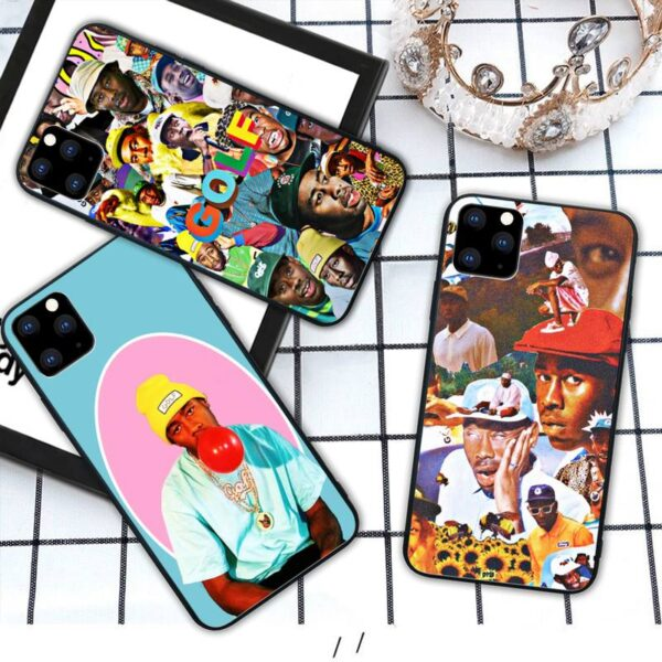 RAP tyler the creator Silicone phone cover case