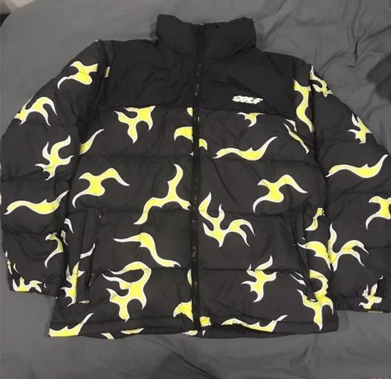 Tyler The Creator Blue flame Coats & Jackets / Down Coats Cotton warm Winter