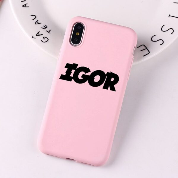 Tyler the creator Pink Color Soft Cover For iPhone Case