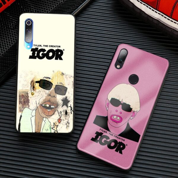 TYLER THE CREATOR Soft silicone glass Phone Case cover shell