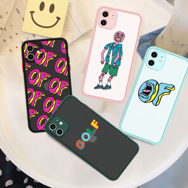 Tyler The Creator Silicone Phone Case for IPhone