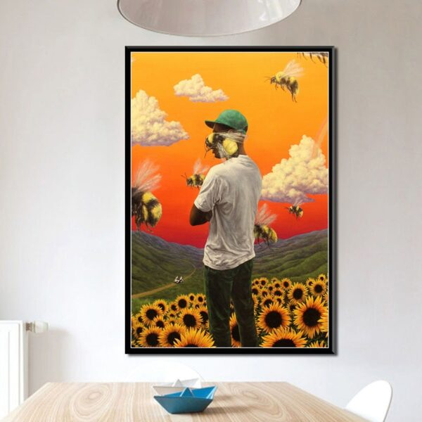 Tyler Creator Painting Posters Prints Wall Art for Living Room Home Decor stickers