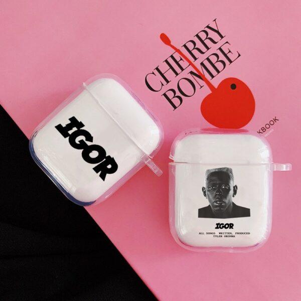 Tyler the Creator Bluetooth Earphone Case Cover Headphone
