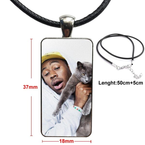 Golf Wang Tyler the Creator For Men/Women Party Gift Glass Necklace