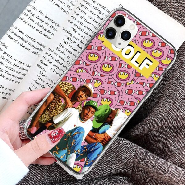 Tyler the creator Silicone Cute phone case for iPhone 11 Pro Max SE 2020 12 Pro Max 6 7 8Plus XS XR X