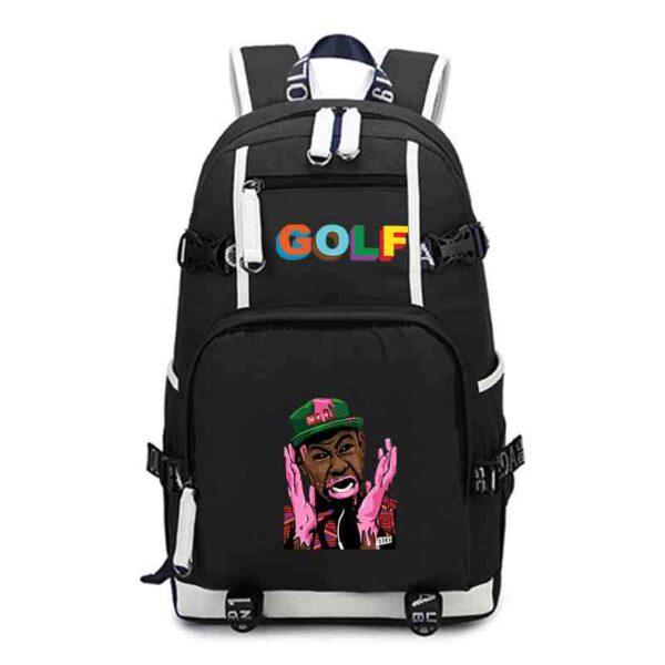 Tyler The Creator School Bags for Girls Boys Backpack