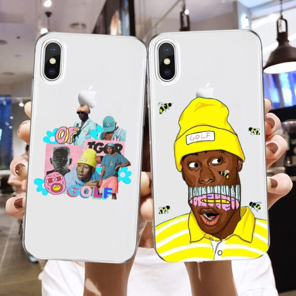 Tyler Creator Soft Phone Case for Samsung S8 S9 S10 S20 Plus Case for A10 A20 A40 A50 A51 A70
