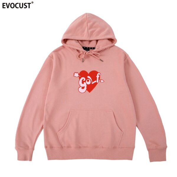 Tyler The Creator Golf Wang heart Hoodies Sweatshirts men/women