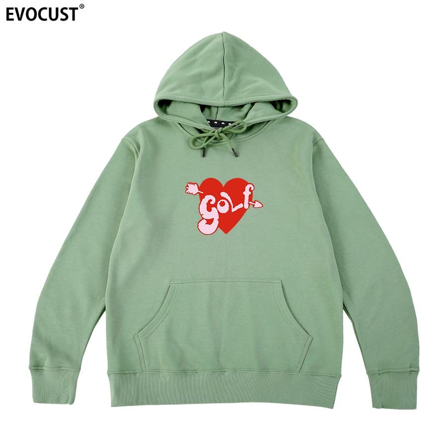 Tyler The Creator Golf Wang heart Hoodies Sweatshirts men/women